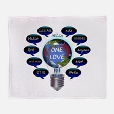One Love Throw Blanket