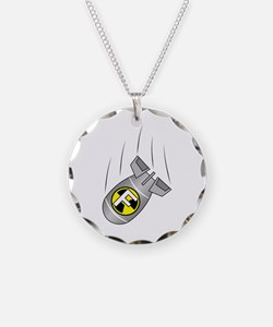 "Nuclear ""F"" Bomb Necklace"