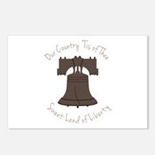 Land Of Liberty Postcards (Package of 8)
