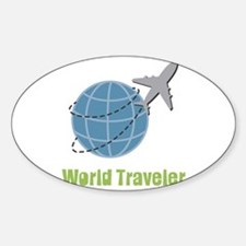 World Traveler Decal