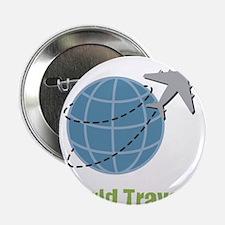 """World Traveler 2.25"""" Button (100 pack)"""