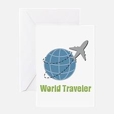 World Traveler Greeting Cards