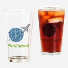 World Traveler Drinking Glass