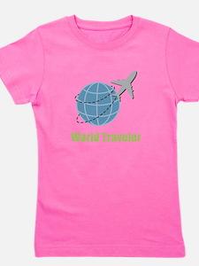 World Traveler Girl's Tee