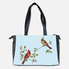 cardinal couple Diaper Bag
