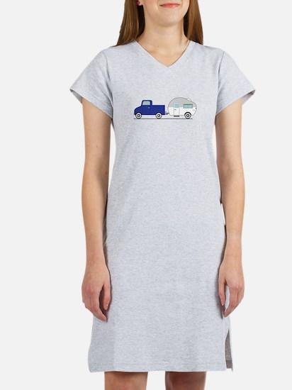 Truck & Camper Women's Nightshirt