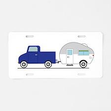 Truck & Camper Aluminum License Plate
