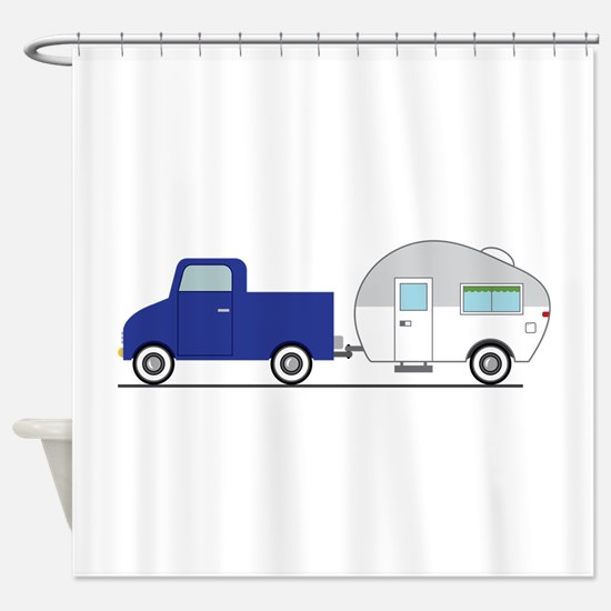 Truck & Camper Shower Curtain