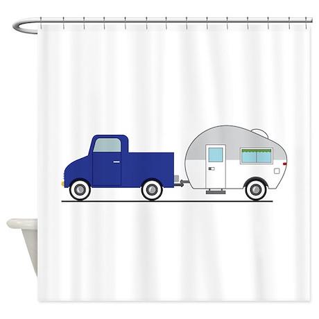 Truck U0026 Camper Shower Curtain