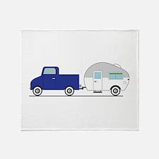 Truck & Camper Throw Blanket