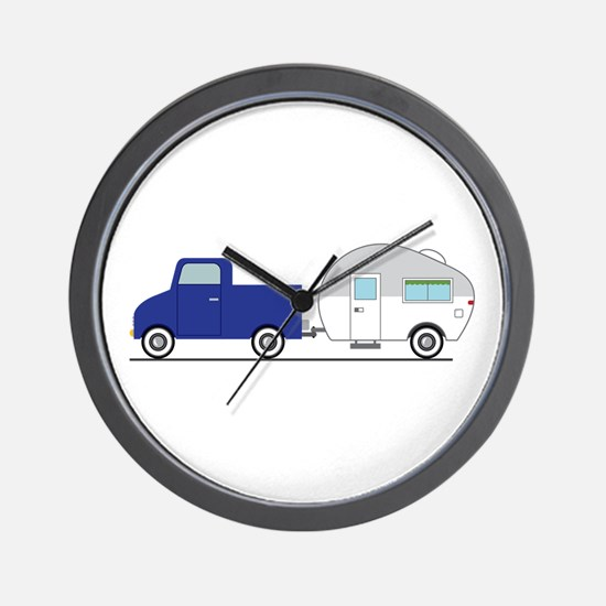 Truck & Camper Wall Clock