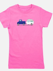 Truck & Camper Girl's Tee