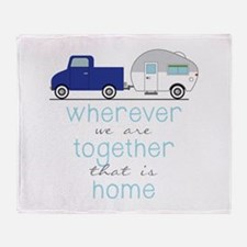 That Is Home Throw Blanket