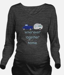 That Is Home Long Sleeve Maternity T-Shirt
