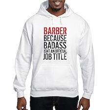 Badass Barber Jumper Hoody