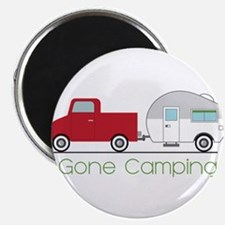 Gone Camping Magnets