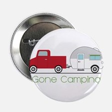 """Gone Camping 2.25"""" Button (10 pack)"""