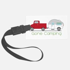 Gone Camping Luggage Tag