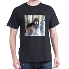 Unique Wolf art T-Shirt