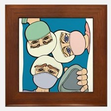 Surgery Get well gifts Framed Tile