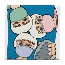 Surgery Get well gifts Tile Coaster