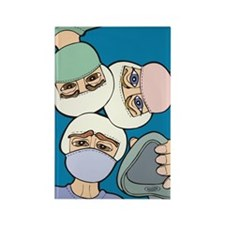 Surgery Get well gifts Rectangle Magnet