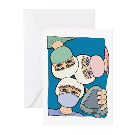 Surgery Get well gifts Greeting Cards (Pk of 10)
