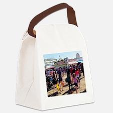 California Fun Canvas Lunch Bag