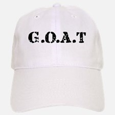 G.O.A.T - greatest of all tim Baseball Baseball Cap
