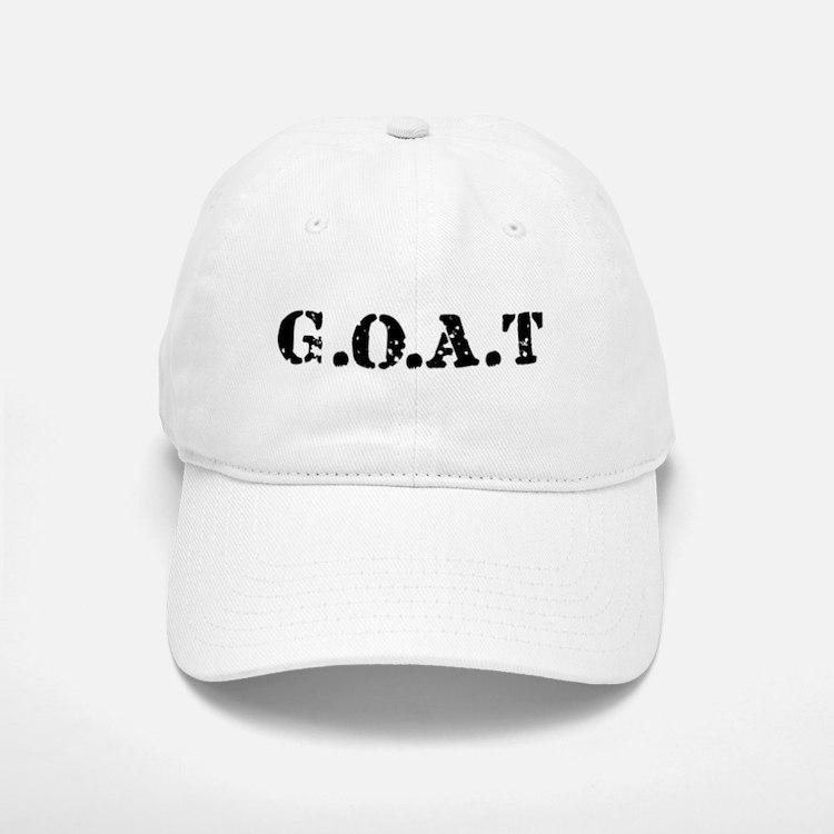 G.O.A.T - greatest of all tim Baseball Baseball Cap