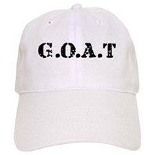G.O.A.T - greatest of all tim Baseball Cap