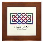 Knot-Corbett.Ross Framed Tile