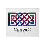 Knot-Corbett.Ross Throw Blanket