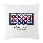 Knot-Corbett.Ross Woven Throw Pillow