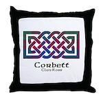 Knot-Corbett.Ross Throw Pillow