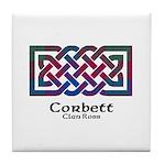 Knot-Corbett.Ross Tile Coaster