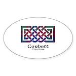 Knot-Corbett.Ross Sticker (Oval 10 pk)
