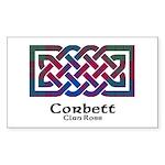 Knot-Corbett.Ross Sticker (Rectangle)