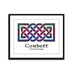 Knot-Corbett.Ross Framed Panel Print