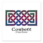 Knot-Corbett.Ross Square Car Magnet 3