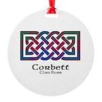 Knot-Corbett.Ross Round Ornament