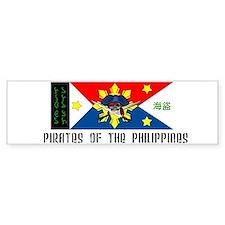 Pinoy Pirates! Bumper Bumper Sticker
