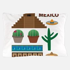 aztec pyramid Pillow Case