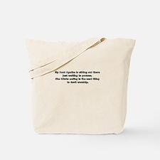 Cute Wait Tote Bag