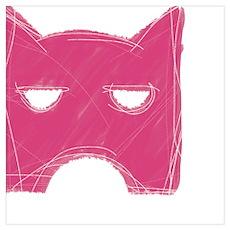 Shadowclan Emblem PINK Poster