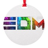 Edm Round Ornament