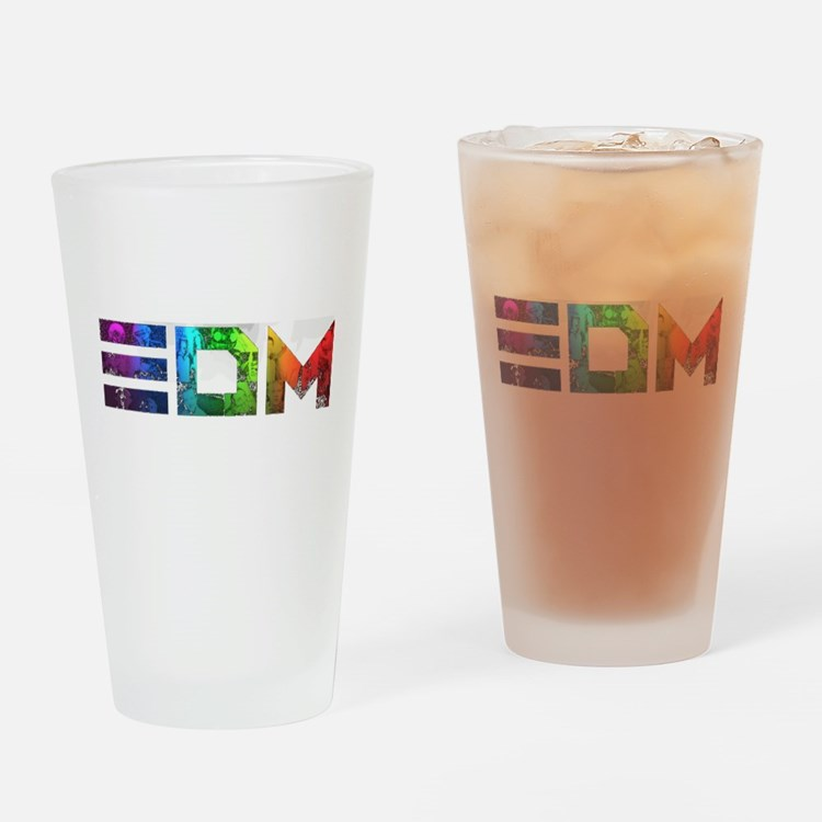 Cute Techno Drinking Glass