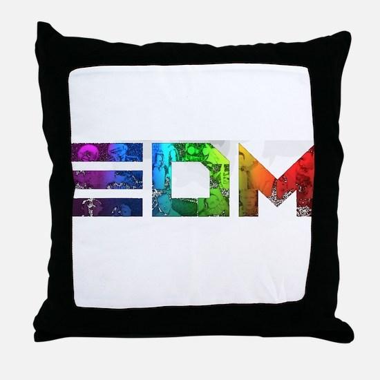 Unique Techno Throw Pillow