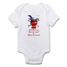 Cute Shiver me timbers Infant Bodysuit