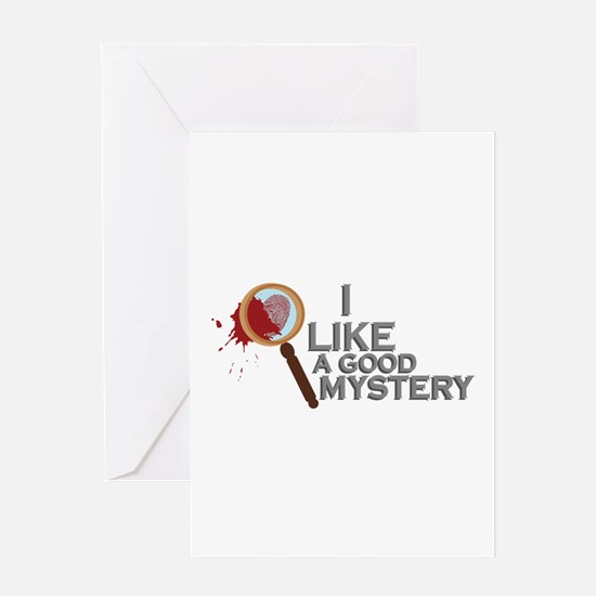 A Good Mystery Greeting Cards